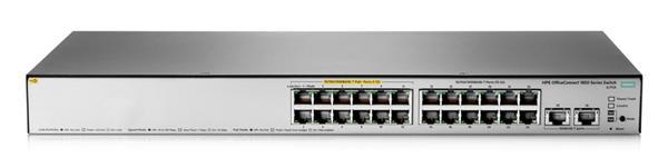 HPE 1850 24G 2XGT PoE+ 185W Switch