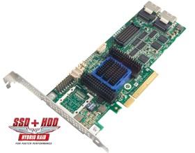 Adaptec AAR-6805E, 8-portový 6Gb/s SASII/SATA 128MB RAID 0, 1,10PCI Express bulk