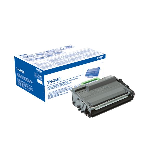 BROTHER TN-3480 (HL-L5000D/L6250DN/DCP-L5500DN/MFC-L6800DW/L6900DW) 8000 strán