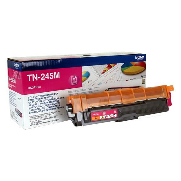 BROTHER TN-245M magenta (HL-31xx, DCP-9020, MFC-9140/9340) 2200 strán