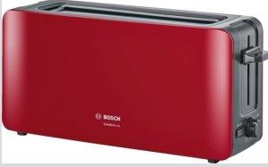 BOSCH_915-1090 W, termostat s časovačom, držiak na žemle,auto vypnutie, tepelne izolovaný plášť, červená/antracit
