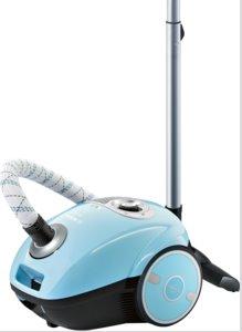 BOSCH_600 W, energ.tr.A,PowerProtect systém, hubica na tvrdé podlahy, farba: modrá