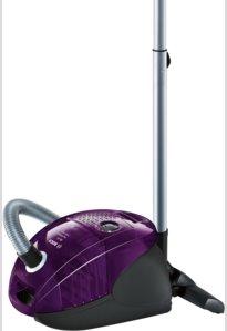 BOSCH_700 W, Bag & Bagless, energ.tr. B, hlučnosť: 79 dB AR: 10 m, farba: fialová