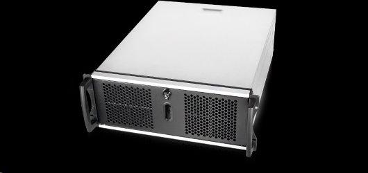 Server Chassis Chenbro RM41300-FS81-U3, rack 4U, Black, bez zdroja 8x GPU
