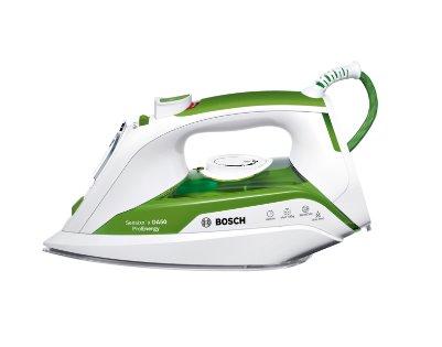 BOSCH_2400W, žehliaca plocha CeraniumGlissée,čistiaca funkcia self-clean,biela / zelená