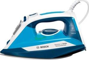 BOSCH_2800W, žehliaca plocha CeraniumGlissée,čistiaca funkcia self-clean,biela / modrá