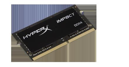 DDR 4 8 GB 2400MHz . SODIMM CL14 ..... Kingston HyperX Impact Black Series (2x4)