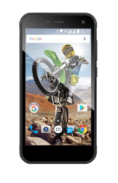EVOLVEO StrongPhone G4, vodotesný odolný Android Quad Core smartphone. LTE