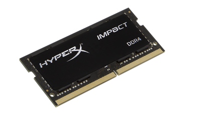 DDR 4 8 GB 2666MHz . SODIMM CL15 ..... Kingston HyperX Impact Black Series