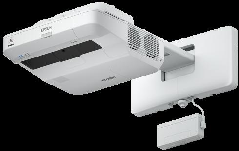 Epson projektor EB-1450Ui, 3LCD, WUXGA, 3800ANSI, 16000:1, USB, HDMI, LAN, MHL, WiFi - ultra short