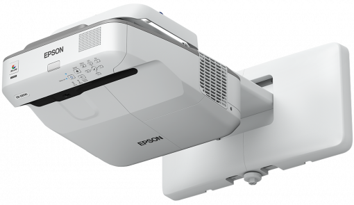Epson projektor EB-680, 3LCD, XGA, 3500ANSI, 14000:1, USB, HDMI, LAN, MHL - ultra short