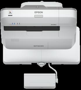 Epson projektor EB-696Ui, 3LCD, WUXGA, 3800ANSI, 16000:1, USB, HDMI, LAN, MHL - ultra short