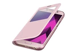 Samsung S View púzdro EF-CA520PP pre Galaxy A5 2017 Ružové