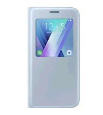Samsung S View púzdro EF-CA520PL pre Galaxy A5 2017 Modré