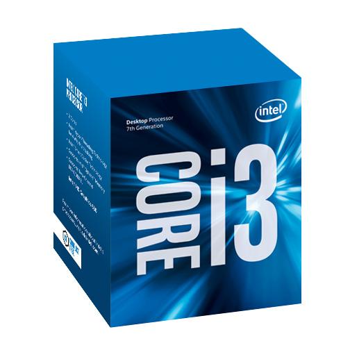 Intel® Core™i3-7320 processor, 4,10GHz,3MB,LGA1151 BOX, HD Graphics 630