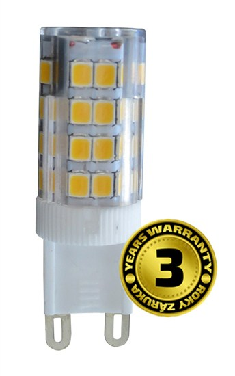 Solight LED žiarovka G9, 3,5W, 3000K, 300lm