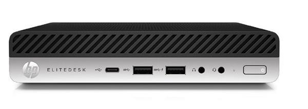 HP EliteDesk 800 G3 DM, i5-7500T, 4GB, 500GB, W10Pro, 3Y, WiFi/BT/vPro
