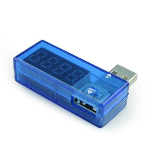 Gembird USB merač prúdu a napätia