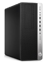 HP EliteDesk 800 G3 TWR, i7-7700, Intel HD, 8 GB, SSD 256 GB, DVDRW, W10Pro, 3y