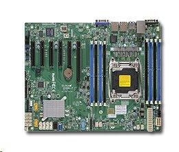 Supermicro MBD-X10SRM-TF, Single SKT, LGA 2011, C612 chipset, 4 DIMMs, 3 x PCIe, 2 x 10GbE, 10 x SATA, IPMI, microATX -