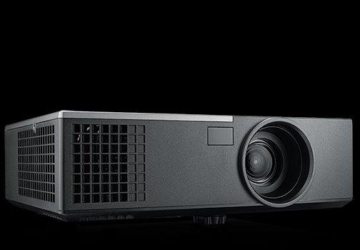 Dell 1650 Projector, 3D, WXGA, 1280x800, 3800 ANSI, 2200:1, VGA, HDMI, RJ45, 2Yr