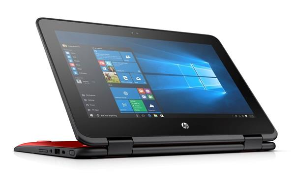 HP ProBook x360 11 G1, Pentium N4200, 11.6 HD/Touch, 4GB, SSD 128GB, W10, 1Y, Radiant Red