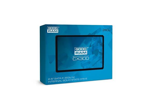 Goodram 240GB SSD CX300 Series ,SATA 3 6Gb/s, 2.5
