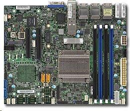Supermicro X10SDV-TP8F Xeon D-15182,2GHz, pas. 2PCI-E8,2×10GbE(SFP+)&6GbE,4DDR4, 4sATA,M.2