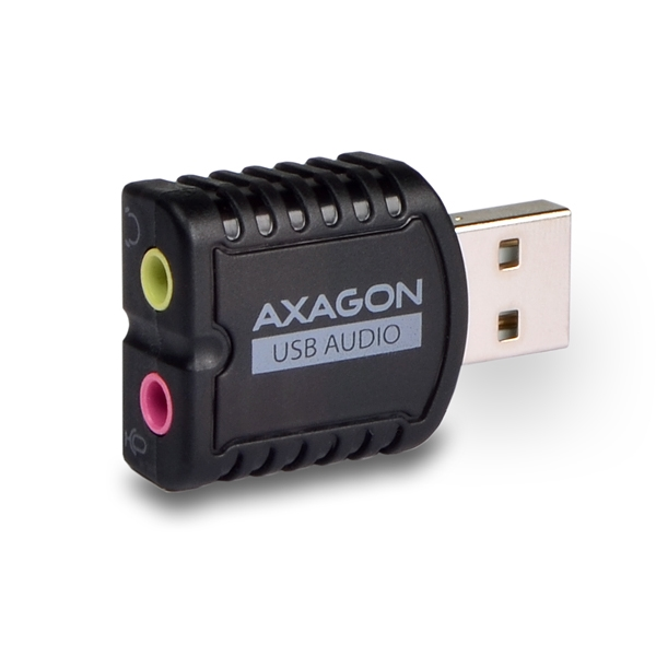 AXAGON ADA-10 USB2.0 - stereo audio MINI adaptér