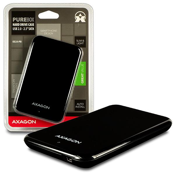 AXAGON EE25-PB USB2.0 - SATA 2.5