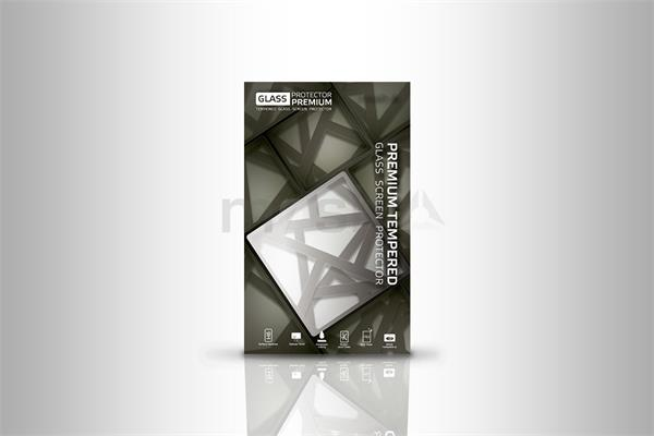 Glass Protector temperované sklo pre iPhone 7+; 3D Glass White