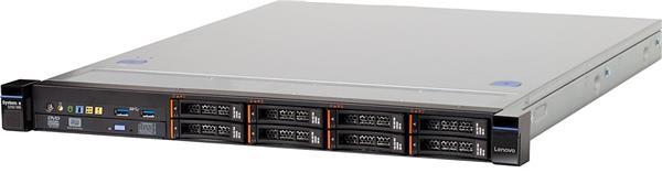 Lenovo Server x3250 M6, Xeon 4C E3-1230v5 80W 3.4GHz/2133MHz, 1x8GB, O/Bay 2.5in HS SAS/SATA, SR M1210, 460W p/s, Rack