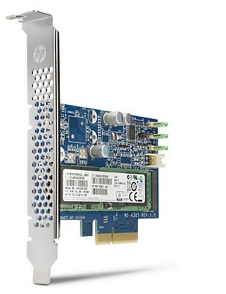 PCIe SSD disk HP Turbo Drive G2 - 512 GB