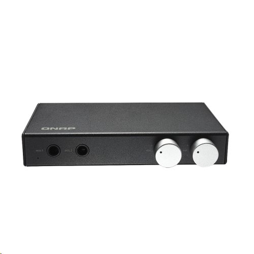 Qnap OceanKTV Audio Box, CM6533, USB, 2 MIC IN, 2 RCA Out