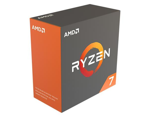 AMD, Ryzen 7 1700X, Processor BOX, soc. AM4, 95W
