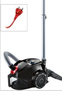 BOSCH_SensorBagless™ Technology, tr.A energ.účin., hlučnosť: 79 dB, AR: 10 m, farba: čierna
