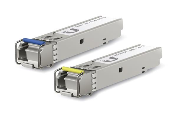 Ubiquiti Mini-GBIC modul (SFP), 1000Base-BX10, WDM singlemode do 3km, LC (2pack)