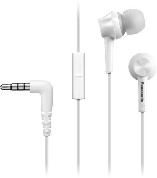 PANASONIC IN-EAR EARPHONES - WHITE (HEADSET)