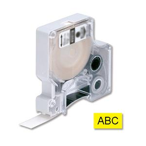 DYMO samolepiaca páska D1 čierna potlač/žltá 6 mm
