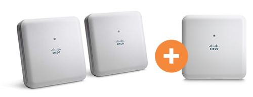 Cisco Aironet 1830 Series with Mobility Express Cisco Aironet 1830 Series with Mobility Express Promo 2KS+1KS zdarma