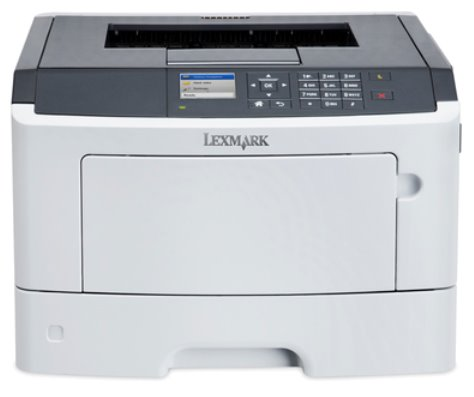 Lexmark MS317dn, mono laser, 1200dpi, 33ppm, 128MB, 800MHz, USB, PP, DUPLEX, Lan
