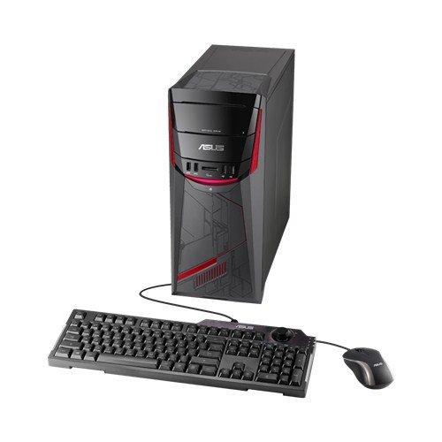 ASUS Desktop G11CD Intel i7-7700(3.60GHz) GTX1070-8GB 16GB 1TB+128GB DVD-RW WL Win 10 Klávesnica+myš 3Y