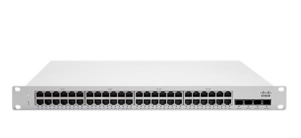 Meraki MS250-48 L3 Stck Cld-Mngd 48x GigE Switch