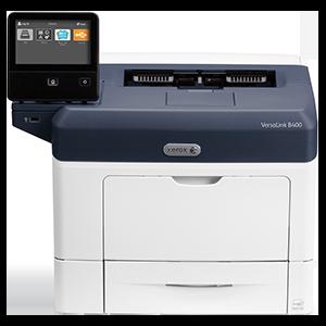 Xerox VersaLink B400, mono laser, 45 str/min, 2GB/1GHz, USB, GLan, NFC, NET, duplex, A4