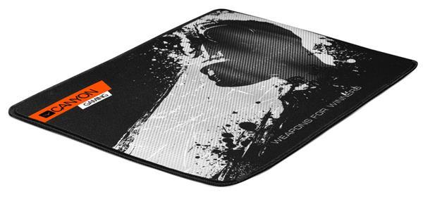 Canyon CND-CMP3, podložka pod hráčsku myš, veľkosť L - veľká,350X250X3mm, čierna s Gaming motívom.