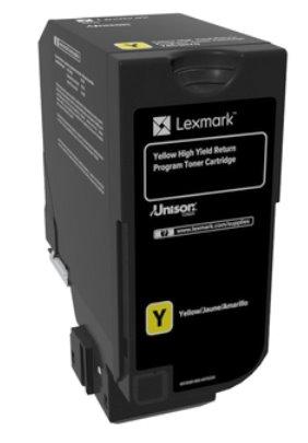Lexmark CS720, CS725, CX725 žltý toner so štandardnou kapacitou 7K