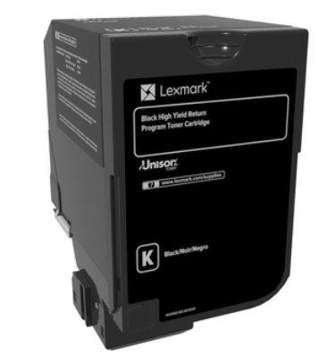 Lexmark CX725 čierny toner s vysokou kapacitou 25K
