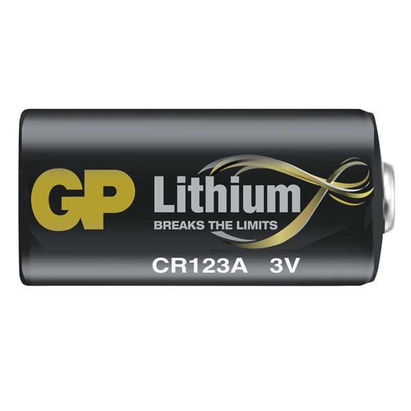 GP Fotobatéria líthiová CR 123A