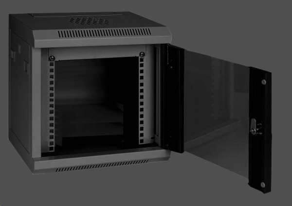 Eurocase nástenný rozvádzač GMC3212 12U / 10