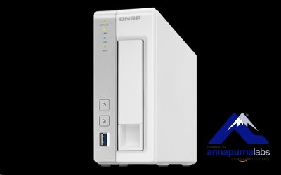 QNAP™ TS-131P 1 Bay NAS, 3.5, Alpine AL-212, 2-core, 1.7GHz, 1GB DDR3 RAM, EU Edition